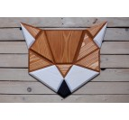 Wood Wall decoration Fox