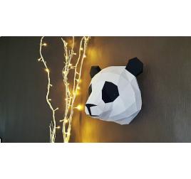 Trophée Papier Animal Panda