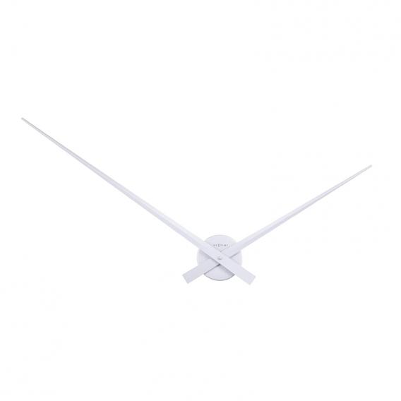 Design Silver Wall Clock