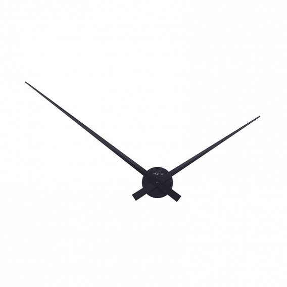 Hands Black Wall Clock
