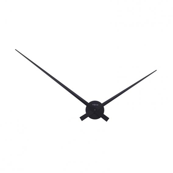 Horloge Murale Design Noire Hands