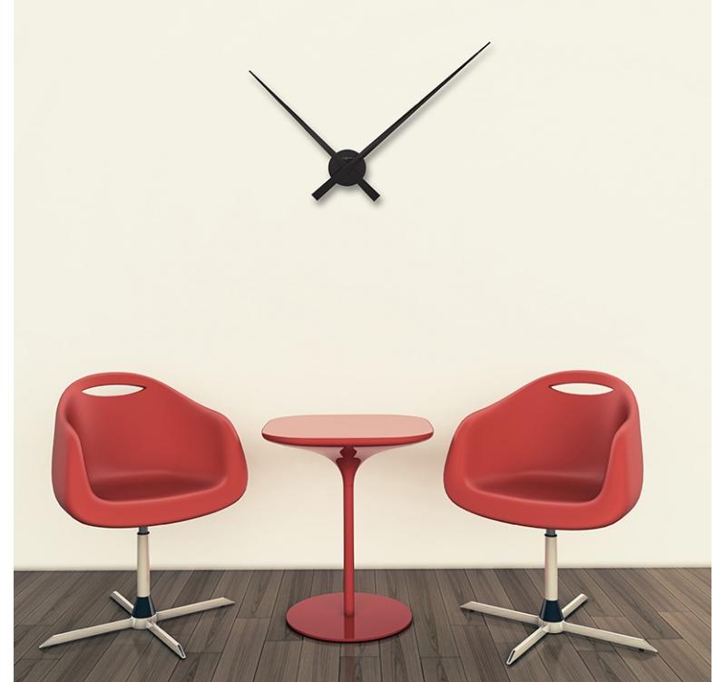 Horloge Murale Design Noire Hands Artwall And Co