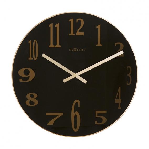 Horloge Murale Smoky Mirror
