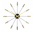 Golden Design Wall Clock