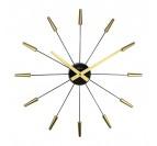 Horloge Murale Design Gold