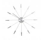 Horloge Murale Moderne Silver