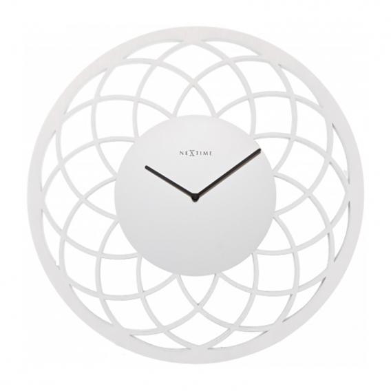 White DreamCatcher Wall Clock