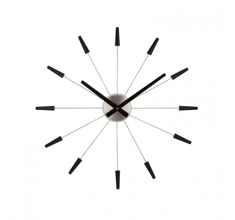 horloge moderne blacktime artwall and co. Black Bedroom Furniture Sets. Home Design Ideas