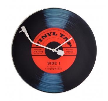Horloge murale Vinyl Tap