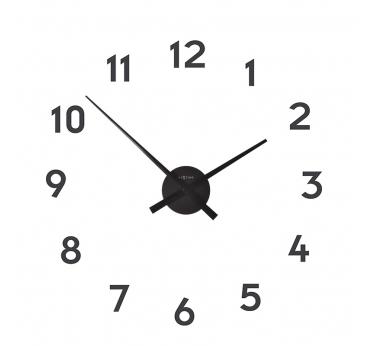 Horloge murale Small Hands noire