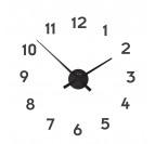 Horloge Murale Small Hands