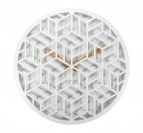 Wall Clock White Discreet