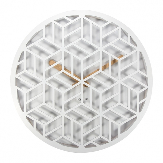 Wall Clock White Graphic