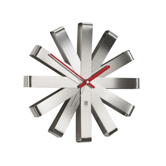 Wall Clock Riblon Alu