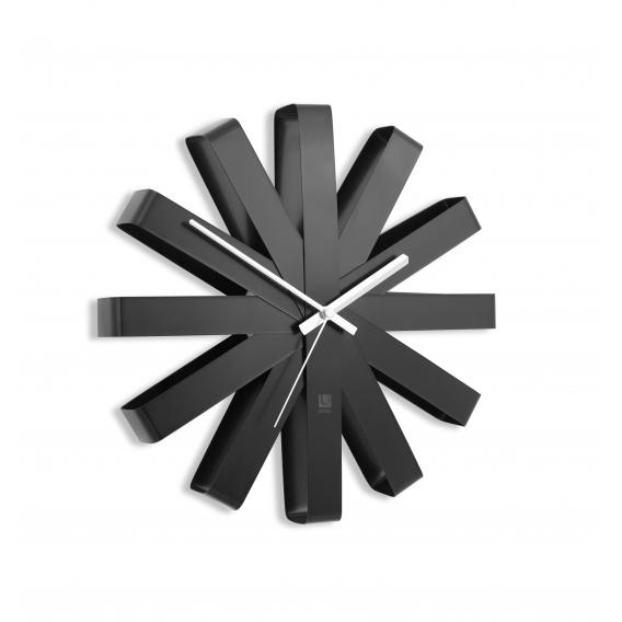 horloge murale moderne ruban artwall and co. Black Bedroom Furniture Sets. Home Design Ideas