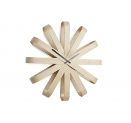 Horloge Murale Ribbonwood Natural