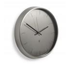 Horloge Murale Meta Nickel