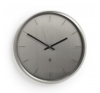 Meta Nickel Contemporary Clock