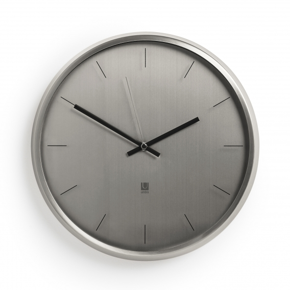 Horloge Contemporaine Meta Nickel