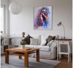 Toile Peinture Eclat du Cheval