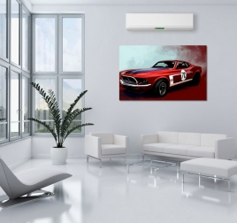 Ford Mustang Decorative Art Print