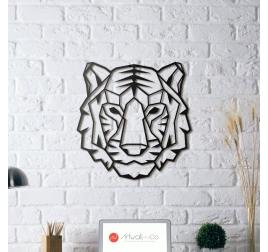 Décoration murale métal Tigre