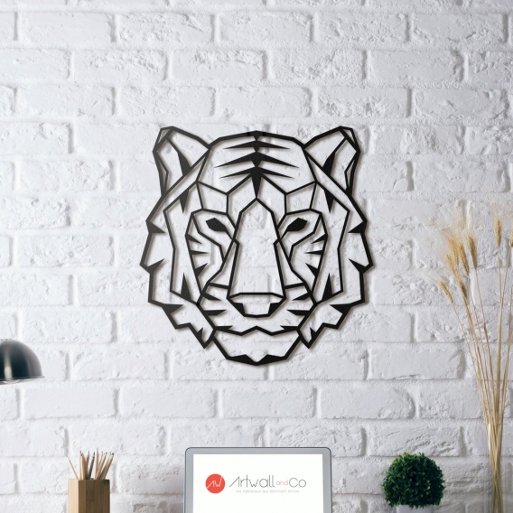Tiger Metal Wall Decoration