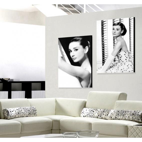 Audrey Hepburn Tableau Célèbre