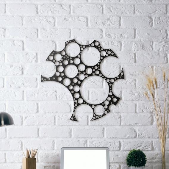 Décoration Métallique Cercle Vertueux