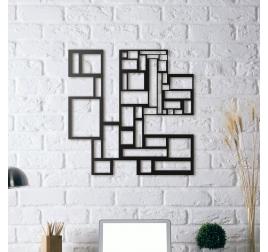 Déco Mur Métal Labyrinth