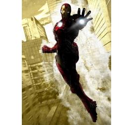 Poster Metal Iron Man Dark