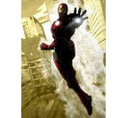 Poster Metal Iron Man Dark