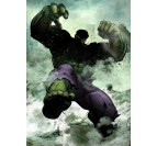 Poster Metal Dark Hulk
