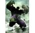 Dark Hulk metal poster