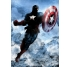 Dark Captain America Metal Poster