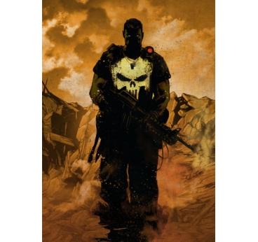 Poster Métal Black Punisher