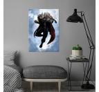 Poster Métal Black Thor