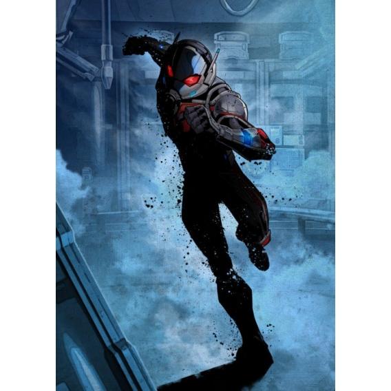 Ant Man Metal Poster