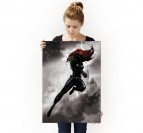 Poster Metal Black Widow