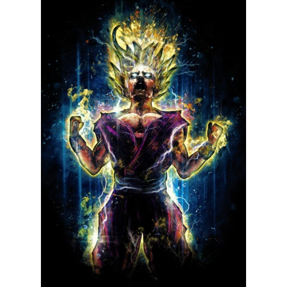 Energy Manga Metal Poster