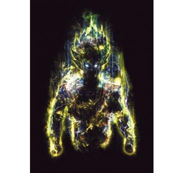 Poster Metal Super Saiyan