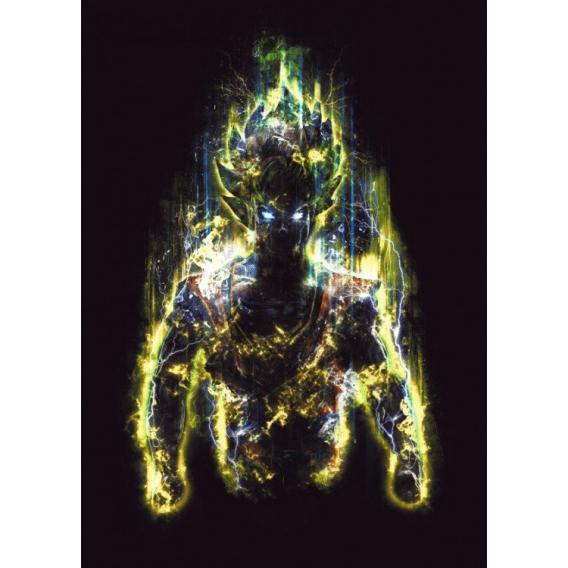 Super Saiyan Metal Poster