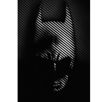 Poster Metal Black Batman