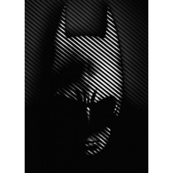 Black Batman Metal Poster