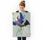 Poster Comic Batman Cape