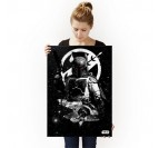 Poster Metal Star Wars Chasseur