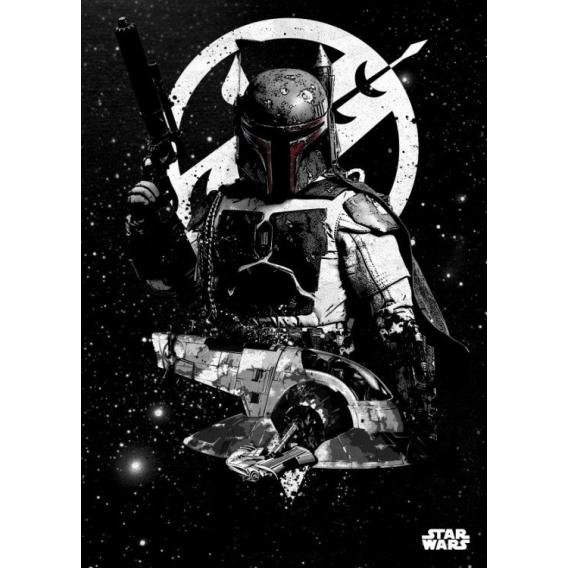 Poster Metal Star Wars Chasseur