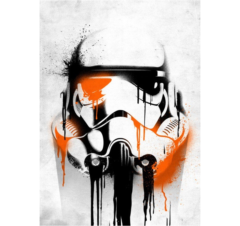 Stormtrooper Metal Poster Artwall And Co