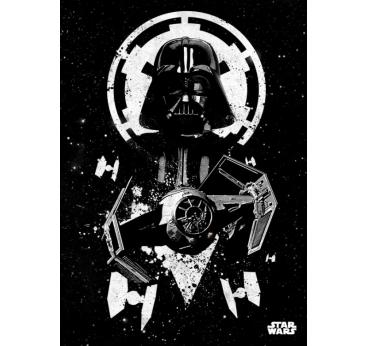 Poster Métal Dark Vador