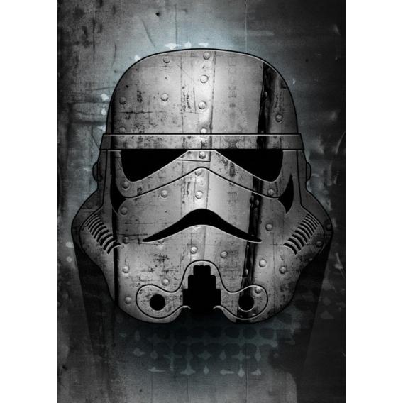 Affiche Métal Iron Stormtrooper